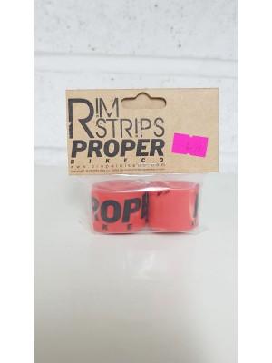 PropeBikeCo Rim Tape Red Pair
