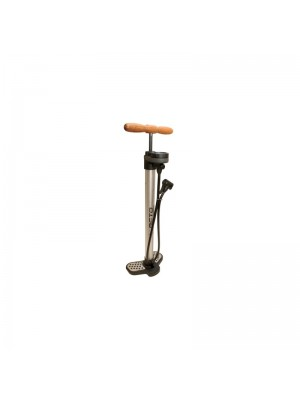 Beto Alloy Track Pump Wooden Handle