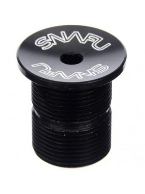 Snafu Threaded Top Cap Black