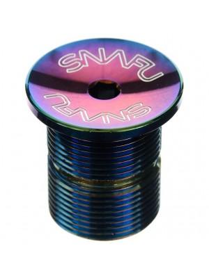 Snafu Threaded Top Cap Jet Fuel Oil Slick