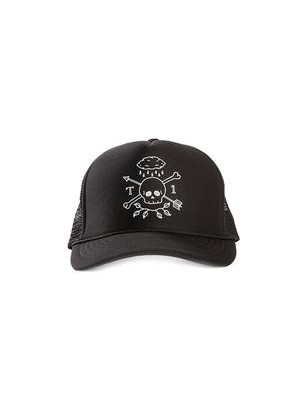 Terrible 1 Rain Skull Mesh Trucker Cap