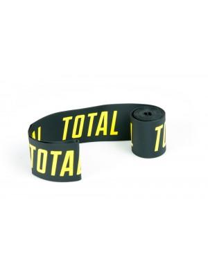 Total BMX Rim Tape Black With Yellow Logo
