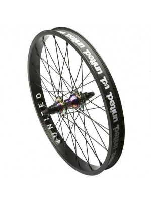 "United Supreme V2 Rear Cassette 20"" BMX Wheel"
