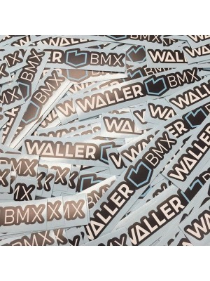 Waller BMX Sticker Pack