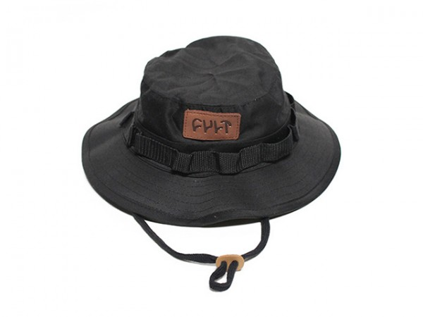 Cult Boonie Hat Black